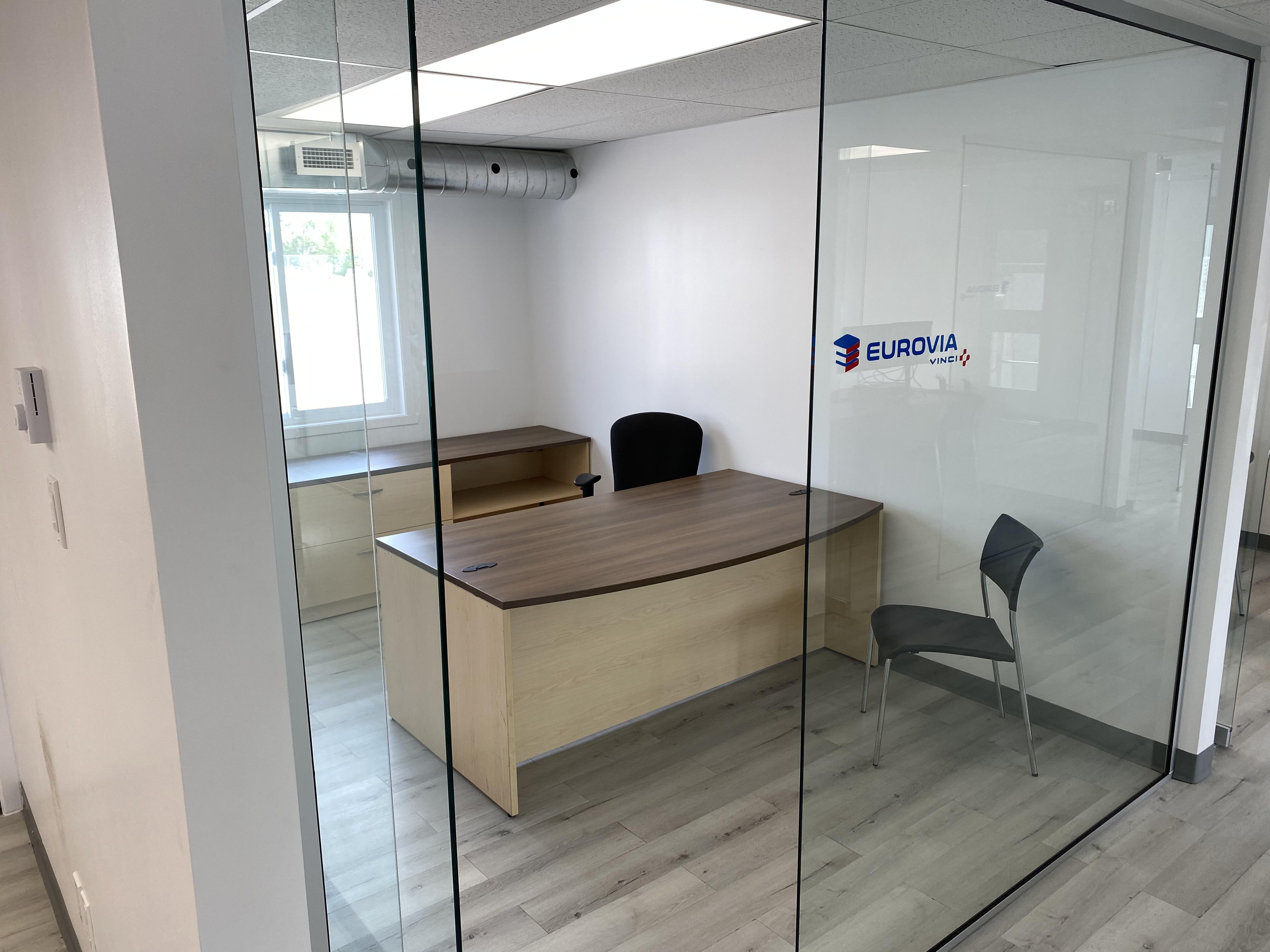 bureaux temporaire