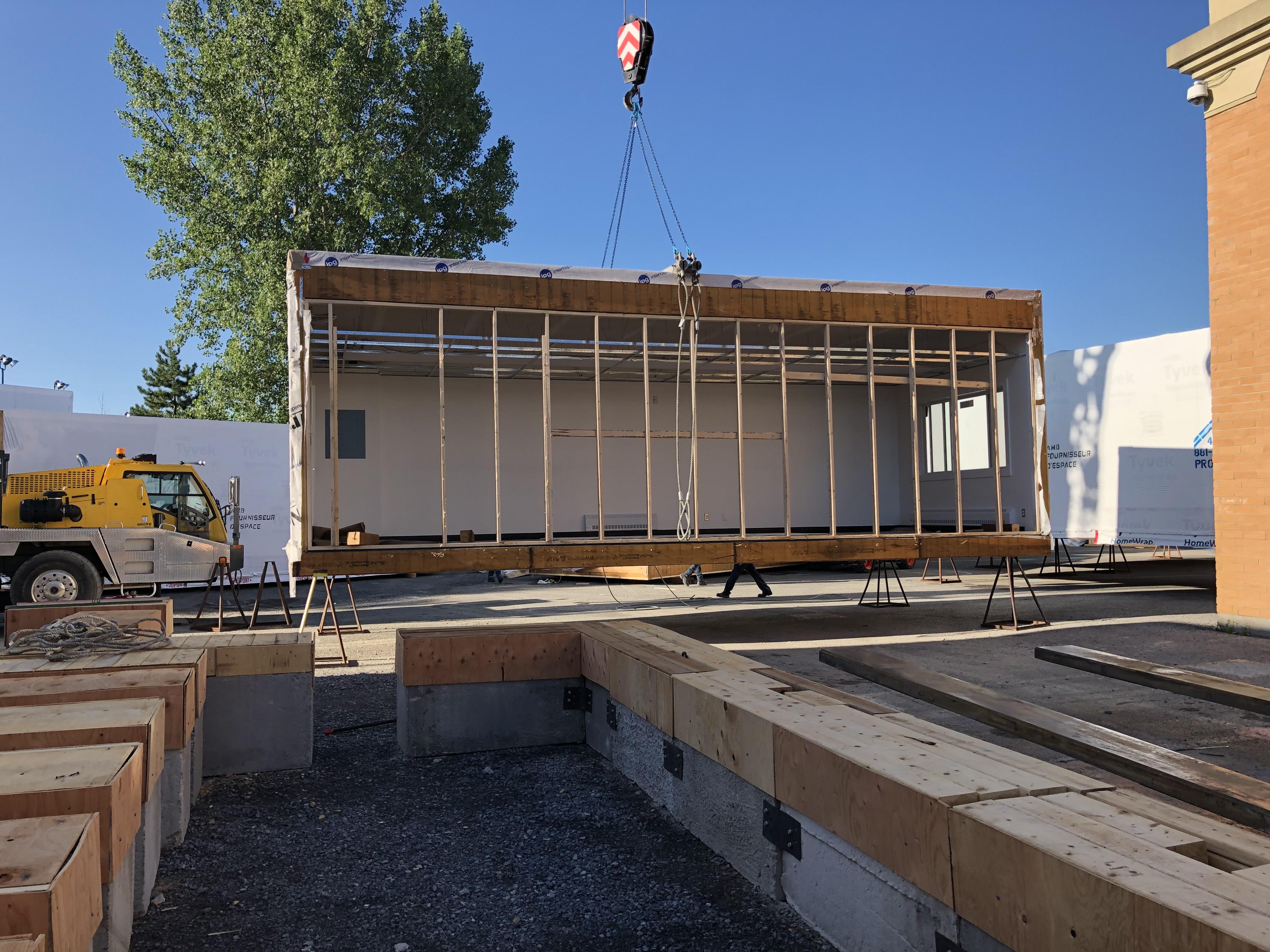 Gérance construction modulaire